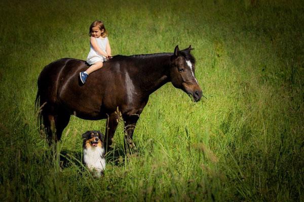 Fotoshooting mit der kleinen Lena