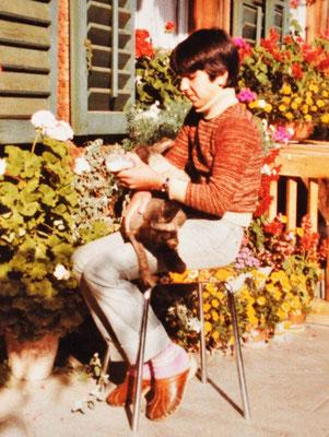 Meine Fürsorglichkeit und Liebe zu schutzbedürftigen Lebewesen lebte ich ich bereits als Kind
