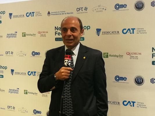 Aldo Elías Cámara Argentina de Turismo