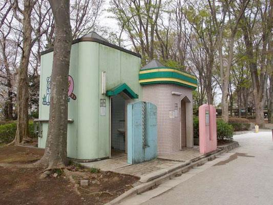 夢見ヶ崎動物公園 トイレ