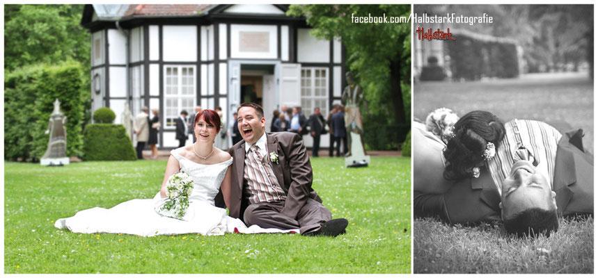 Hochzeit in Bad Lauchstädt, Kurpark