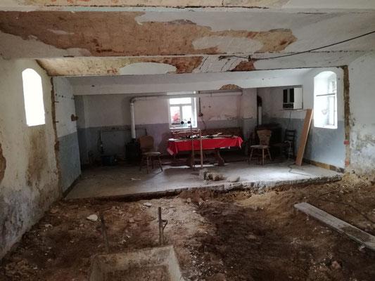 Umbau zur Ferinewohnung Wellness Apartment in Doberschütz bei Bautzen