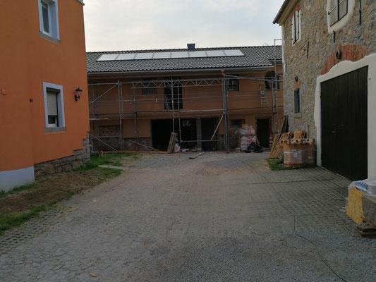 Umbau zum Ferienhaus