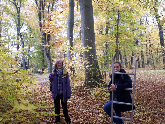 Wir freuen uns über das Schnäppernest (Bild: Wolfgang Weiner)