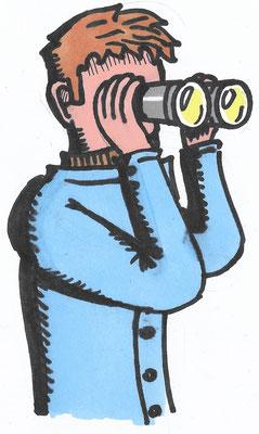 Zeichnung Paul Gebauer