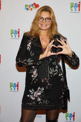 Schauspielerin Maren Gilzer kam als Gast aus Berlin