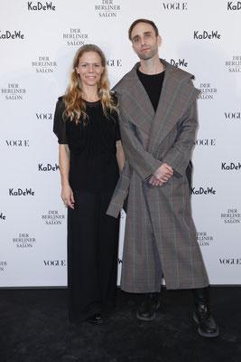 Antonia Goy and Bjoern Kubeja