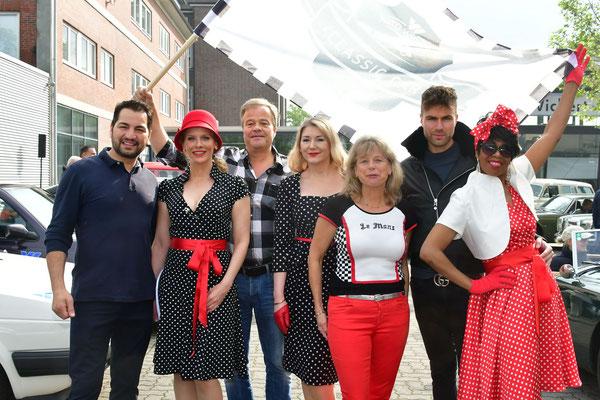 Die VIPs mit Bernd Glathe und Ehefrau Anja