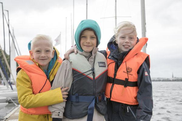Die kleinen HerzPiraten Ben, Oskar und Lea