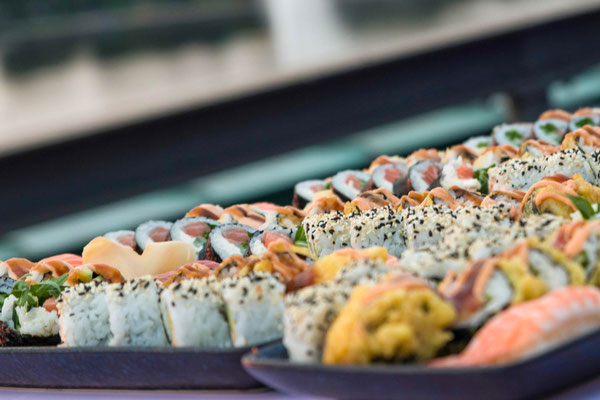 Feinstes Sushi aus dem Se7ven Oceans