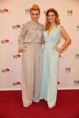 Designerin Ella Deck und Tänzerin Christine Deck