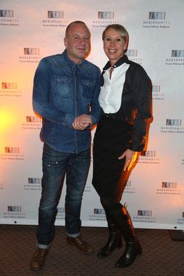 Lars Prigge mit Valérie Huck