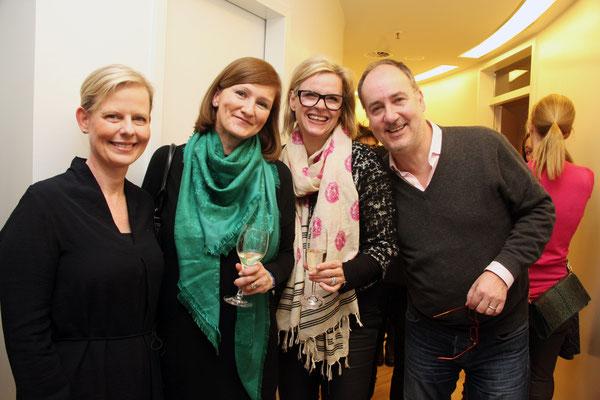 Irina Rotgans mit Daniela Laubinger, Petra Engelking und Partner