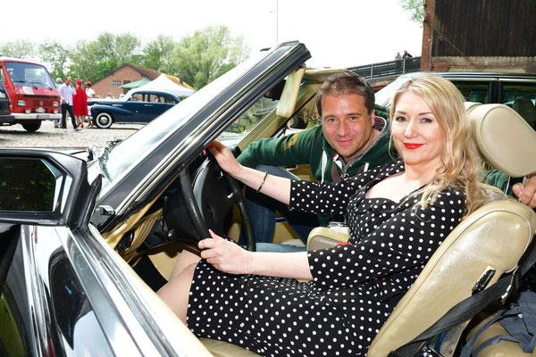 Jörg Boecker und Sandra Quadflieg waren zum 3.Mal bei der Auto Wichert Classic Car Rallye dabei