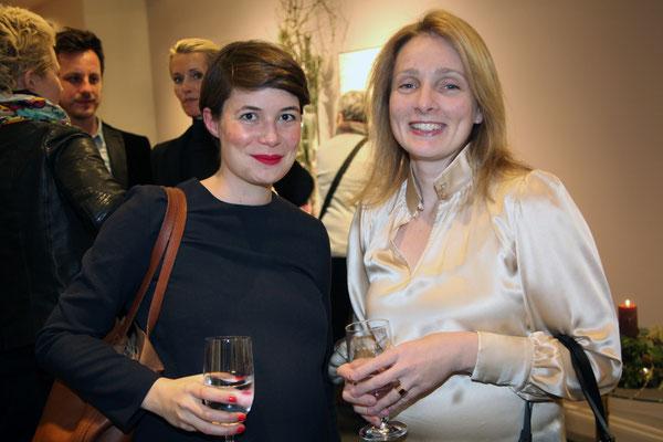 Hanna Schulz und Dr. Anja Dawson