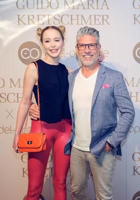 GNTM-Star Theresia Fischer mit Ehemann Thomas Behrend