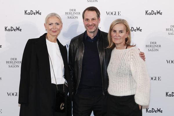 Christiane Arp, Marcus Kurz und Petra Fladenhofer