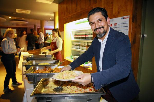 Patricio Montoya, Inhaber der Osteria Aurora