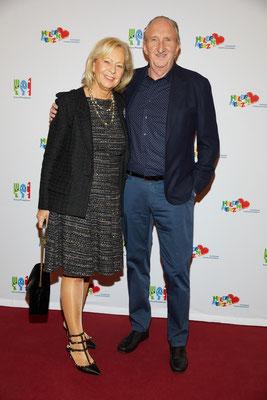 Mike Krüger kam in Begleitung seiner Frau Birgit