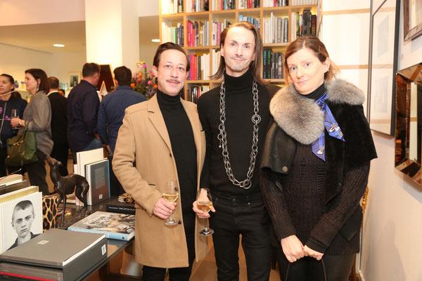 Stephan Hecht, Ralf Fuchs und Carola Finn