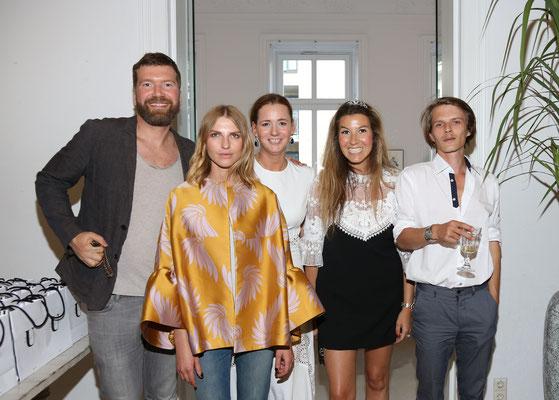Daniel Kannenberg, Danaja Vegelj, Jenny Falckenberg-Blunck, Yasmin von Schlieffen, Karl Görling
