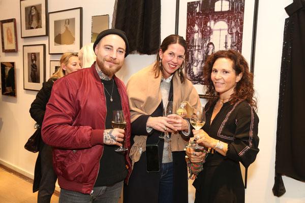Christian von der Heide, Nina Heine und Alexa Lutz Stahlhut