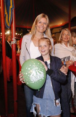 Hilly Martinek mit Tochter Smylla