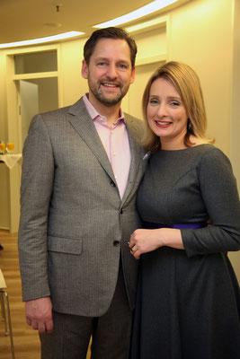 Rupert und Dr. Anja Dawson