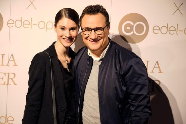 Frau Ultrafrisch Gründerin Janina Lin Otto mit Guido Maria Kretschmer