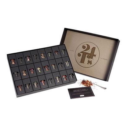 Tee-Adventskalender, ca. 90 Euro (über www.design-3000.de)