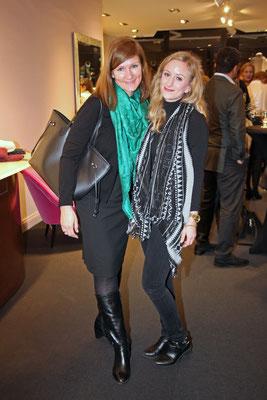 Daniela Launiger mit Mrs.City-Mitarbeiterin Jana Nadine Neumann