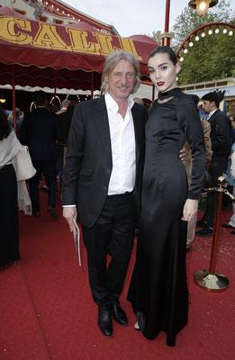 Frank Otto mit Freundin Nathalie Volk