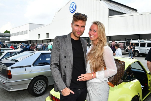 Designer André Borchers fuhr mit Schwester Nicole