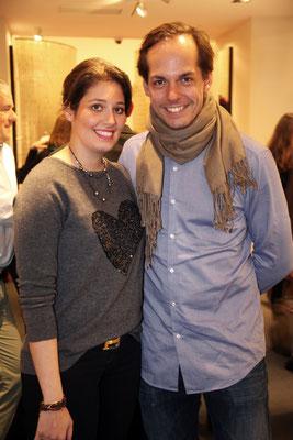 Setareh Mozaffarian und Philip Jost
