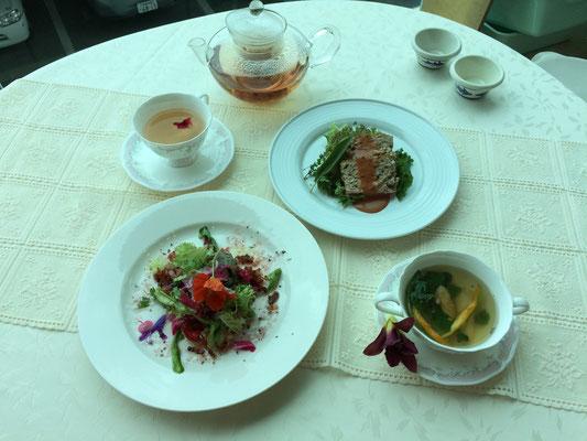 当日の料理、日常に使える、元気がつく簡単で美味しいメニューです。