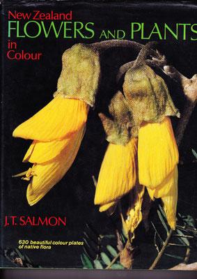 親友 Ruth Moore からのプレゼント、ニュージーランドの花と植物の本