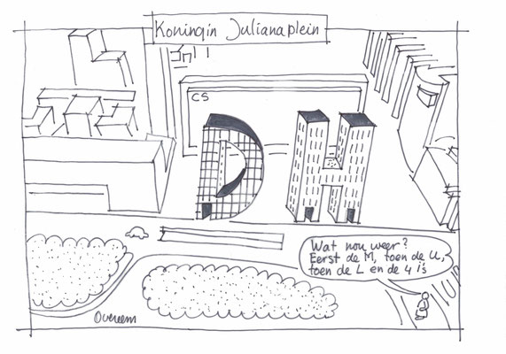 310 appartementen Koningin Julianaplein Den Haag.