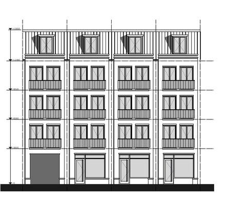 3 winkels en 16 appartementen Haarlem