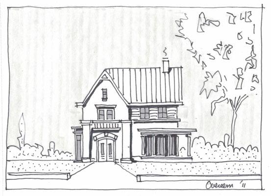 Warder, villa