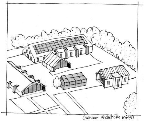 Oisterwijk seniorenwoningen in een agrarische setting