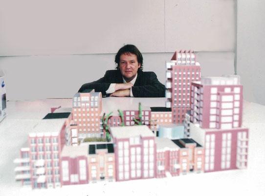 maquette  Leytsche Hof.