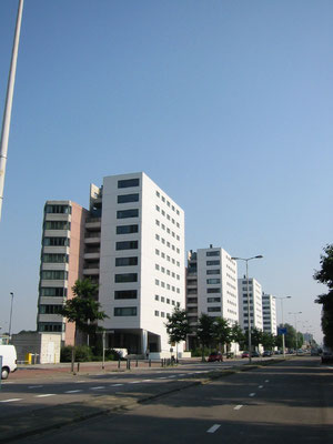 184 appartementen Erasmusweg Den Haag ism PWL Kloet
