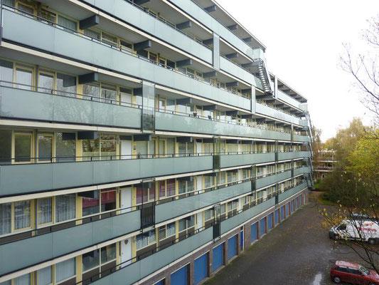 Leidschendam Tol nieuwe balkon-en galerijhekken