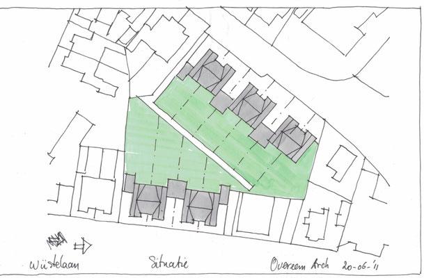 Santpoort Zuid- voorstel verkaveling