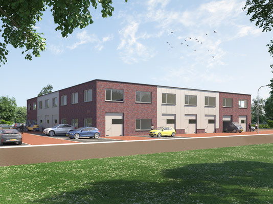 bedrijfsgebouw Steenbergen