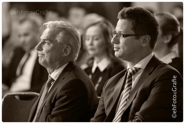 Dr Gergely Gulyás | Vizepräsident des Ungarischen Parlaments,  Thomas Strobl | Minister für Inneres, Digitalisierung und Migration