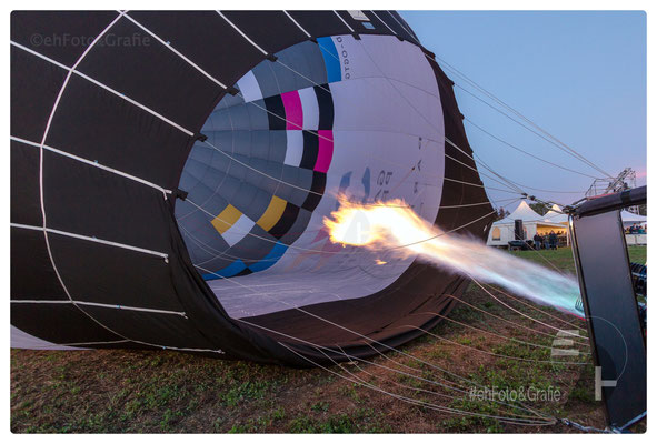 Ballonname: »Gasometer« Volumen: 6.000 m3