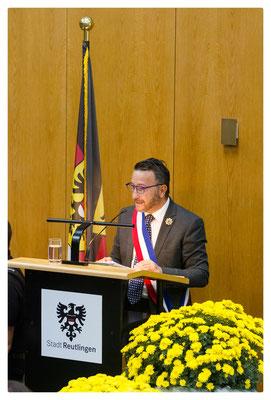 Bürgermeister Yves Nicolin • Roanne