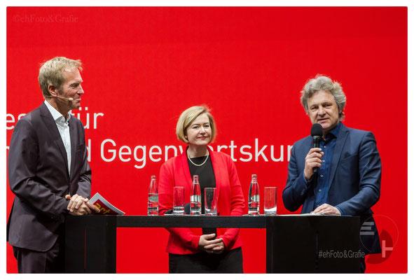 Markus Brock, Britta Wirtz, Dr. Frank Mentrup