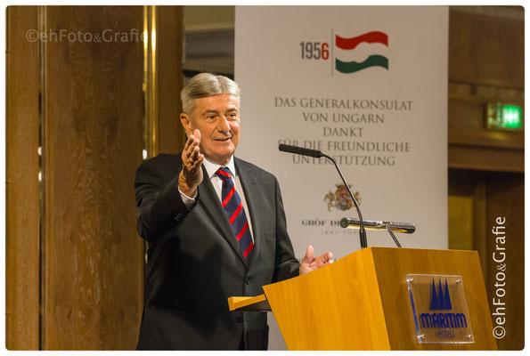 Dr. János Berényi | Generalkonsul von Ungarn in Stuttgart